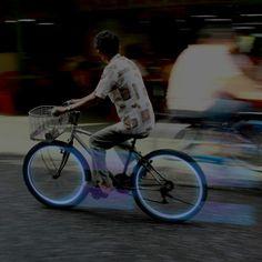 Line Wheel Light Blue