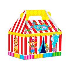 Caixa Maletinha Surpresa Circo (8un)
