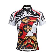 0de91c439 Woman s Cycling Suit Jersey -- Apparel Road Riding Bicycling Bike Shirt  Breathable and Quick Dry Cycling Sports Wear for Summer Face Cards Court  Cards