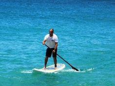 Stand up paddleboarding anyone? Yes!