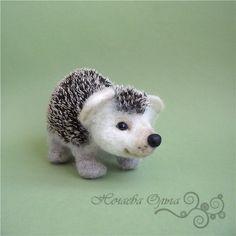 "Master Class ""Hedgehog"" (dry felting) - Fair Masters - handmade, handmade"
