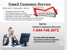 Specific slip-ups with Gmail can fly up at whatever point. You require an amigo close by to help you on these issues. Gmail customer service is your new buddy as the masters at our end are extraordinarily skilled and really advanced. You can contact then at whatever time by giving a call at 1-844-746-2972 as our lines are open 24 hours. For more data visit website http://www.monktech.net/gmail-customer-care-service.html