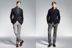Uniqlo Autumn/Winter 2012 Men's Lookbook | FashionBeans.com