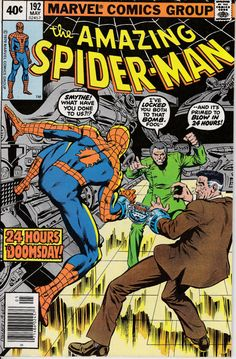 Amazing Spider-Man 192 May 1979  Issue  Marvel by ViewObscura