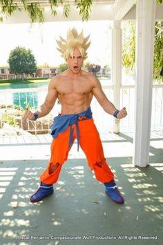 SSJ2 Goku Battle Damaged CosplayPhoto by Compassionate Wolf