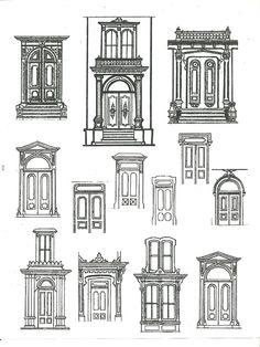 Front Door Drawing georgian pediment - google search | pediments | pinterest | more