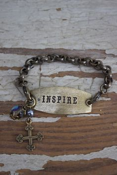 Inspire Charm Bracelet - Lenny & Eva