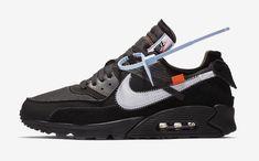 """on sale 423d2 ba141 Off-White × Nike Air Max 90 """"Black"""" Air Max 90 Black,"""