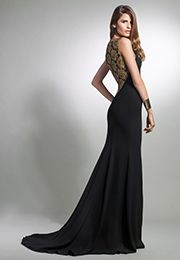 Noir Timeless Love Gown by nha khanh at $175 | Rent The Runway