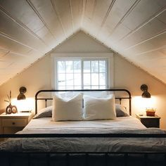 Master Bedroom En Suite Tucked Away Under The Eaves . How To Make The Most Of Your Attic Master Bedroom. Attic Master Bedroom And Bath ContractorTalk. Home and Family House Design, Home, Home Bedroom, Bedroom Design, Luxurious Bedrooms, Bedroom Loft, Modern Bedroom, Attic Bedroom Designs, Remodel Bedroom