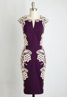 SOURCING SOLUTIO USA, INC Lakeside Libations Dress in Grape