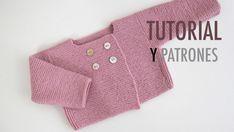DIY Conjunto bebé parte 1: Cómo hacer pantalones de lana (patrones) - Oh, Mother Mine DIY!! Diy Crochet Cardigan, Knitted Baby Cardigan, Knit Baby Sweaters, Diy Crafts Knitting, Knitting For Kids, Baby Knitting Patterns, Baby Kimono, Baby Coat, Cross Stitch Baby