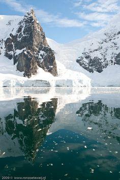 Andvord Bay (gemaakt in Antarctica schiereiland en Weddell zee)