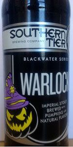 Warlock - Southern Tier Brewing Company - Lakewood, NY - BeerAdvocate
