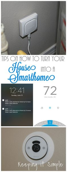 Tips on how to turn your house into a smarthouse with Honeywell Lyric #ad #ConnectYourHome @honeywellhome