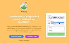 Alchemy es un software completamente gratuito, y muy fácil de usar, para crear documentos PDF y animaciones GIF a partir de nuestras imágenes.