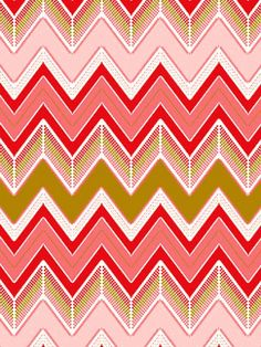 luxepaperie chevron flame stitch wrapping paper; would be an amazing wallpaper