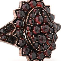 The Bohemian garnet is a unique and distinctive gemstone which was properly identified only a few decades ago when gemologists were able to determine the gemstone�s characteristics and origins. From pre-historic time until the late 19th century, Bohemian garnet deposits were found only in Bohemia, predominantly in the Bohemian Highlands massif.