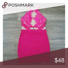 Pink illusion dress - S,M,L . My boutique uses the same distributors & carries the same products you'll find at Nasty Gal, ASOS, Urban Outfitters, Sabo Skirt, Pacsun, Nordstrom, Misguided, TOBI, LF, love culture, Charlotte Russe, Buckle, Windsor, & many many more.  Any questions? Don't hesitate to ask ❤️ Dresses Mini