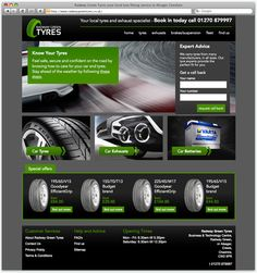 Radway Green Tyres a Web Design project by R1 Creative