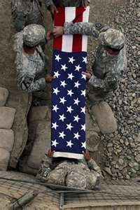 A soldier gives his/her life to make ours better. WAKE UP AMERICA! God bless our military and our vets. I Love America, God Bless America, American Soldiers, American Flag, American Pride, American Spirit, Native American, Gi Joe, Folded Flag
