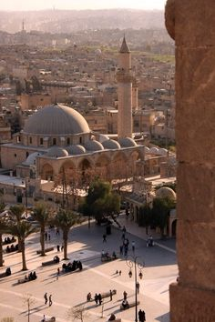 A view of Aleppo, Syria. http://archilaura.blogspot.it/2015/11/wonderful-syria.html