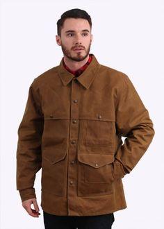 Filson Tin Cloth Cruiser Jacket - Tan
