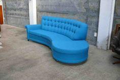 Vintage Curved Sofa