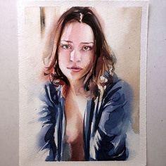 Quarta-feira #aquarela #watercolor 16x21 cm. Workshop em SP: 1 e 2 de outubro. Inscrições:contato@pleinairstudio.com.br.