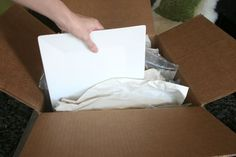 Moving tip: Pack plates vertically, like records. They'll be less likely to break! #moving #MovingTips #movers