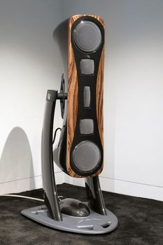 That is one crazy looking speaker def the perfect choice of Alien beings, or ones new space craft - YAR Audio, from Italy