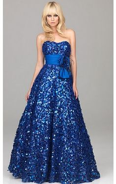 Sequin Embellished Ball Gown  NM-A501