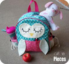 toddler backpack sewing pattern free - Google zoeken