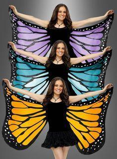 Schmetterlingskostüm Flügel für Damen