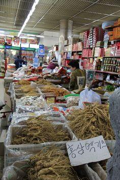 #Ganghwa Ginseng Market, Korea