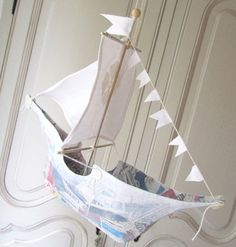 paper mache boats | This charming paper maché ship from Australia will sail you away into ...