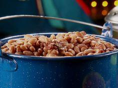 Campfire Beans Recipe : Marcela Valladolid : Food Network - FoodNetwork.com