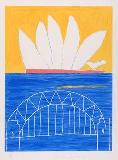 Ken DONE White Opera, Yellow Sky