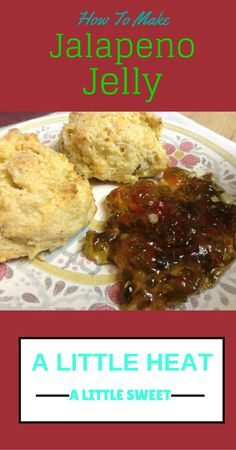 Delicious Jalapeno Jelly.  It's a little hot, a little sweet, and all good.  I made corn biscuits (different than corn bread) when I made it and it rocked.    The key is using fresh jalapeno when you make this jelly - as with any good jelly, fresh ingredients will really make the flavors pop.