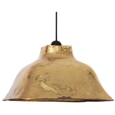 Hand Hammered Brass Pendant Lamp