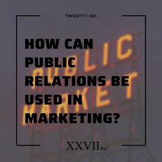 As a company, your goal is to reach as much of your audience as possible, public relations helps an organization and its public to connect each other. Creating a mutual understanding is the main and only goal of public relations agencies. A public relations agency has a major role in establishing and building the Company's brand value in the market.  So, if you are looking for the best PR agency in Delhi, then you should go with Twenty7 inc. Digital Marketing Services, Marketing Tools, Digital Projection, Seo Techniques, Advertising And Promotion, Reputation Management, Public Relations, Connect, Goal