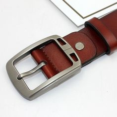 4b9bfcf3d5 High Quality Genuine Leather Men s Belt
