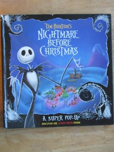 Tim Burton's Nightmare Before Christmas: A Super Pop-Up Book by Tim Burton http://www.amazon.com/dp/0453031323/ref=cm_sw_r_pi_dp_GjRlwb1MN3DKP