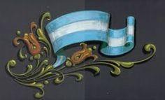 Resultado de imagen para dibujos fileteado porteño para imprimir Argentine, Typography, Lettering, Future Tattoos, Three Dimensional, Tango, Painting & Drawing, Stencil, Folk Art