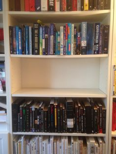 The Empty Shelf Challenge! Clear a shelf in your home and as you finish books, put them on your shelf. Try to fill the shelf by December 31, 2014. Can also be a virtual shelf on your kindle.