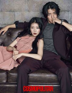 "IU and Kang Ha Neul - so beautiful - Cosmopolitan Korea Magazine featuring the ""Scarlet Heart: Ryeo"" Cast Moon Lovers Scarlet Heart Ryeo, Scarlet Heart Ryeo Cast, Couple Posing, Couple Shoot, Asian Actors, Korean Actors, Korean Dramas, Kdrama, Kang Haneul"