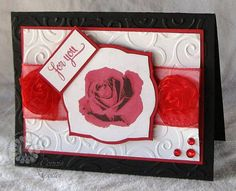 Rose For You! by Connie McCotter. Kitchen Sink Stamps