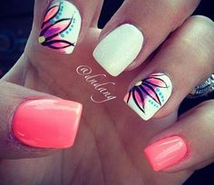Summer Time Nails @Luuux