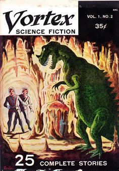 Ski-Ffy: VORTEX SCIENCE FICTION VOL 1 No 2 1953