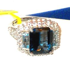London+Blue+Topaz+white+topaz+Ring+10+carats++size+7+#SolitairewithAccents http://stores.ebay.com/JEWELRY-AND-GIFTS-BY-ALICE-AND-ANN